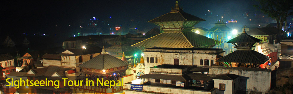 Nepal sightseeing tour